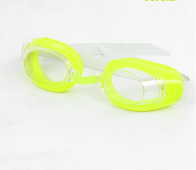 Fluorescent green / Russian Federation CSG Junior Swimming Goggles  -  Cheap Surf Gear