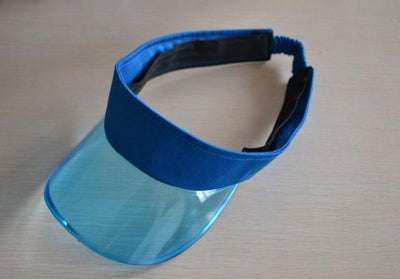 blue CSG Visor Hat  -  Cheap Surf Gear