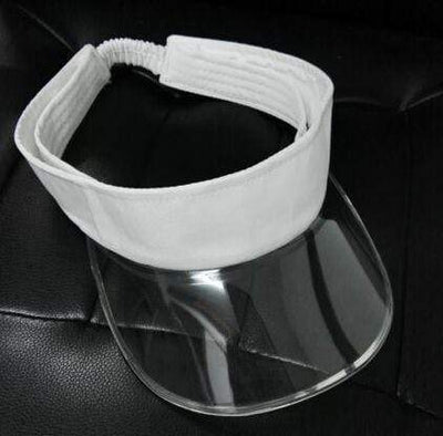 white CSG Visor Hat  -  Cheap Surf Gear