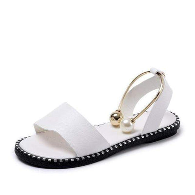 A12 White / 6 DLROOTY Black Sandals  -  Cheap Surf Gear