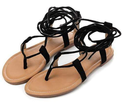 Black / 4 EILYKEN Roman Sandals  -  Cheap Surf Gear
