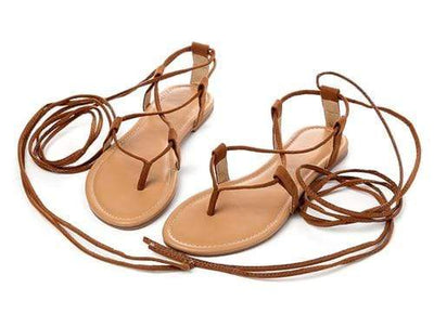 Brown / 4 EILYKEN Roman Sandals  -  Cheap Surf Gear