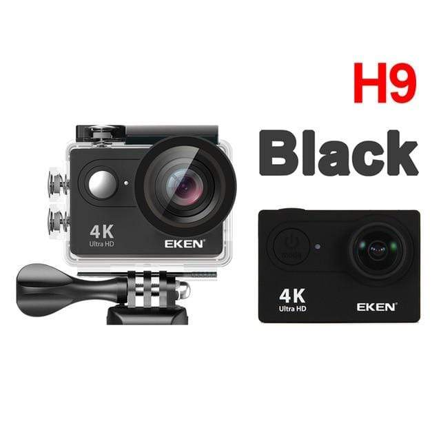 H9 black / China / Standard EKEN Underwater Video Camera  -  Cheap Surf Gear