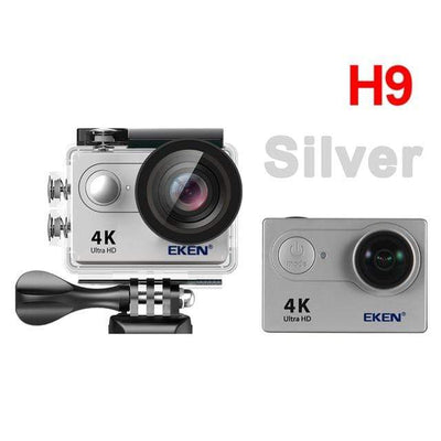 H9 silver / China / Standard EKEN Underwater Video Camera  -  Cheap Surf Gear