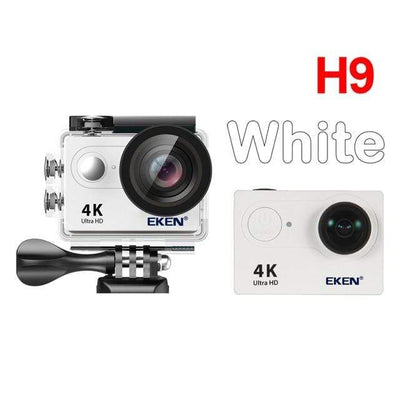 H9 white / China / Standard EKEN Underwater Video Camera  -  Cheap Surf Gear