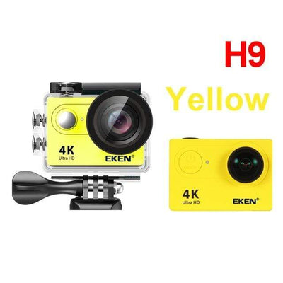 H9 yellow / China / Standard EKEN Underwater Video Camera  -  Cheap Surf Gear