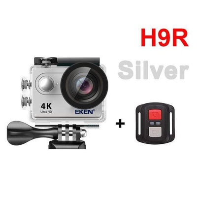 H9R SILVER / Spain / Standard EKEN Underwater Video Camera  -  Cheap Surf Gear