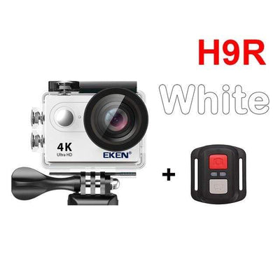 H9R WHITE / Spain / Standard EKEN Underwater Video Camera  -  Cheap Surf Gear