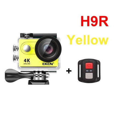 H9R YELLOW / Spain / Standard EKEN Underwater Video Camera  -  Cheap Surf Gear