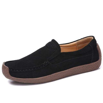 02 black / 6 EOFK Womens Boat Shoes  -  Cheap Surf Gear