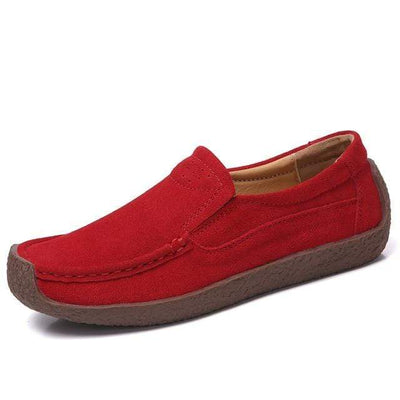 02 red / 6 EOFK Womens Boat Shoes  -  Cheap Surf Gear