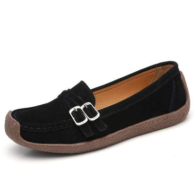 03 black / 6 EOFK Womens Boat Shoes  -  Cheap Surf Gear