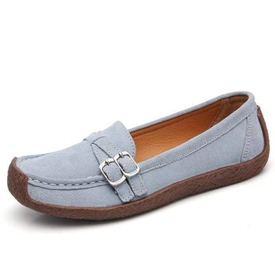 03 grey / 6 EOFK Womens Boat Shoes  -  Cheap Surf Gear