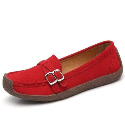 03 red / 6 EOFK Womens Boat Shoes  -  Cheap Surf Gear