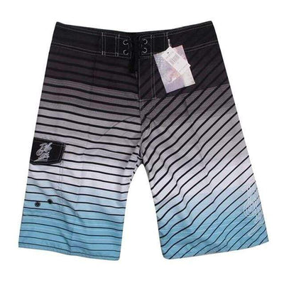 05 gray / 30 FANNAI Long Board Shorts  -  Cheap Surf Gear