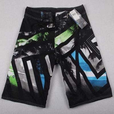 8532 black / 30 FANNAI Long Board Shorts  -  Cheap Surf Gear