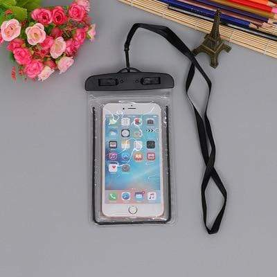 Black Color FGHGF Waterproof Phone Bag  -  Cheap Surf Gear