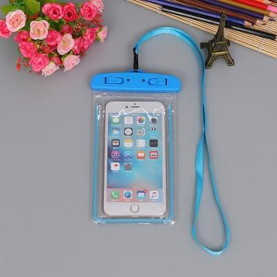 Blue Color FGHGF Waterproof Phone Bag  -  Cheap Surf Gear