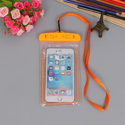 Orange FGHGF Waterproof Phone Bag  -  Cheap Surf Gear