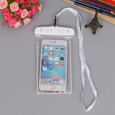 White Color FGHGF Waterproof Phone Bag  -  Cheap Surf Gear