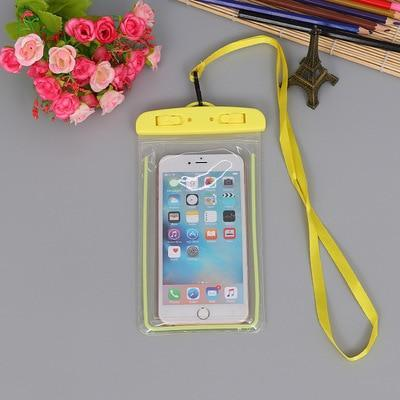 Yellow Color FGHGF Waterproof Phone Bag  -  Cheap Surf Gear