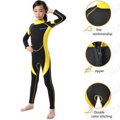 FINEJAR 2.5MM Childrens Wetsuits Sale  -  Cheap Surf Gear
