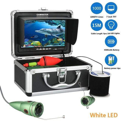 China / White LED 15M Cable GAMWATER Diving Camera  -  Cheap Surf Gear