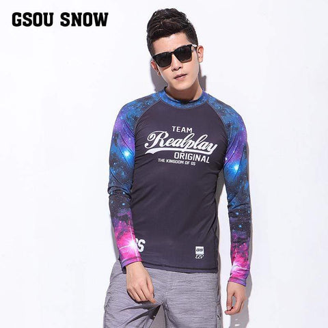 GSOU SNOW Surfing Rash Guard