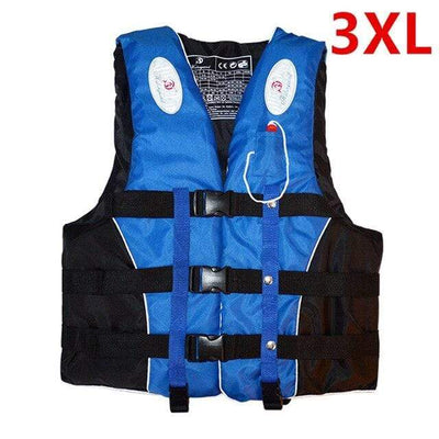 Blue 3XL HI BLACK Youth Life Jackets  -  Cheap Surf Gear