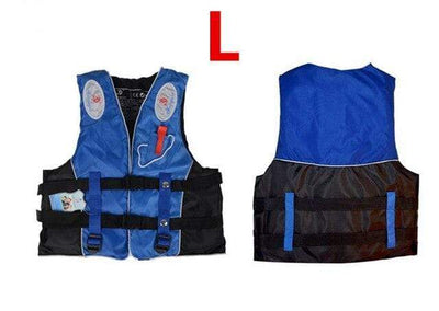 Blue L HI BLACK Youth Life Jackets  -  Cheap Surf Gear