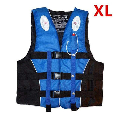 Blue XL HI BLACK Youth Life Jackets  -  Cheap Surf Gear