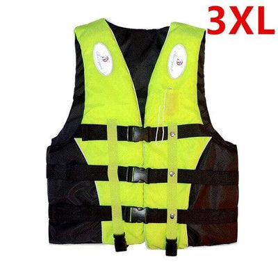 Green 3XL HI BLACK Youth Life Jackets  -  Cheap Surf Gear
