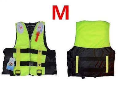 Green M HI BLACK Youth Life Jackets  -  Cheap Surf Gear