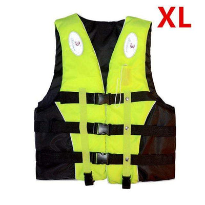 Green XL HI BLACK Youth Life Jackets  -  Cheap Surf Gear