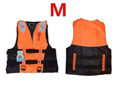 Orange M HI BLACK Youth Life Jackets  -  Cheap Surf Gear