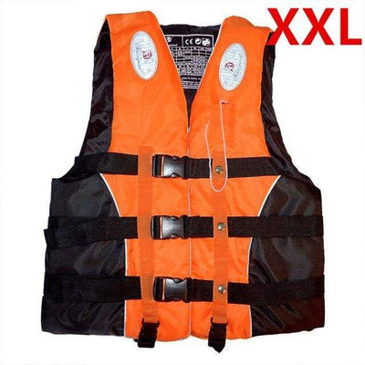 Orange XXL HI BLACK Youth Life Jackets  -  Cheap Surf Gear