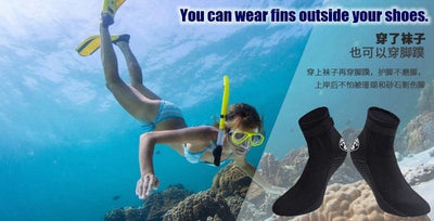 HI SEA Neoprene Booties  -  Cheap Surf Gear