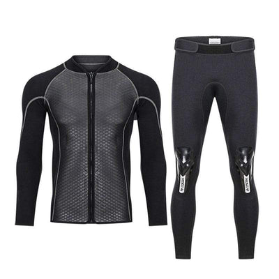 HISEA 2.5MM 2 Piece Wetsuit  -  Cheap Surf Gear