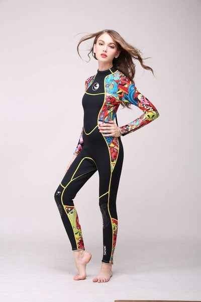 HISEA Ladies Wetsuit (3mm)  -  Cheap Surf Gear