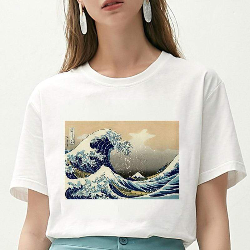 HPYMRT Wave T Shirt  -  Cheap Surf Gear
