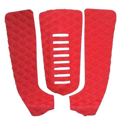 Red ISF Surfboard Traction Tail Pads  -  Cheap Surf Gear