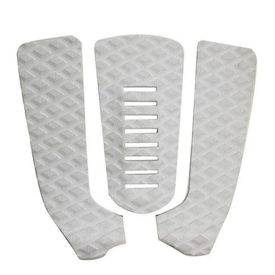 White ISF Surfboard Traction Tail Pads  -  Cheap Surf Gear