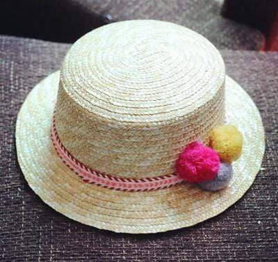 4 / 48-52cm JIANGXIHUITIAN Straw Hat  -  Cheap Surf Gear