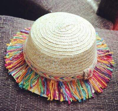 6 / 48-52cm JIANGXIHUITIAN Straw Hat  -  Cheap Surf Gear