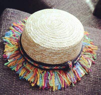 7 / 48-52cm JIANGXIHUITIAN Straw Hat  -  Cheap Surf Gear