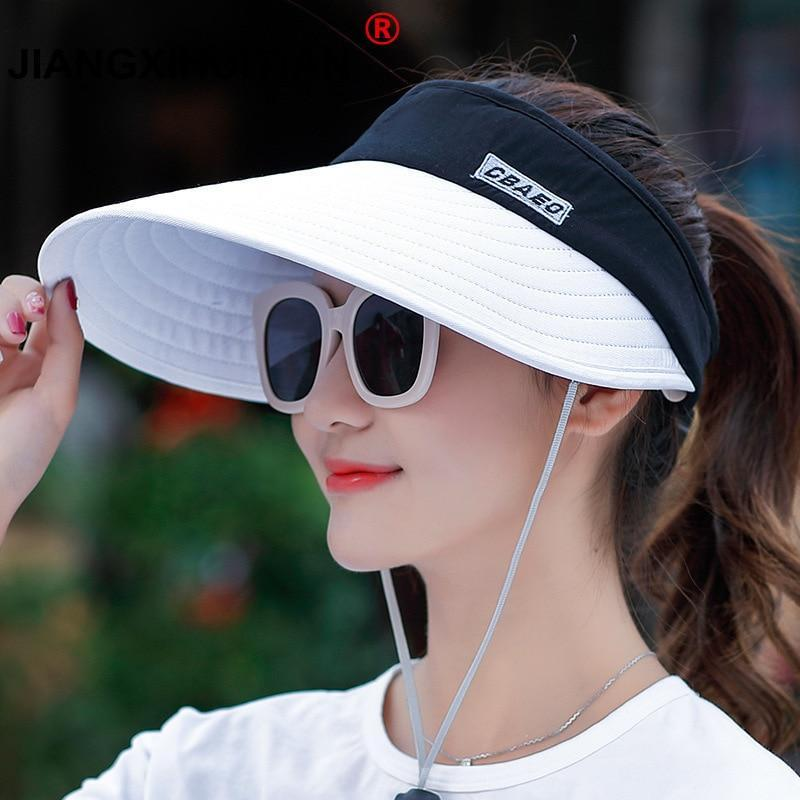JIANGXIHUITIAN Womens Sun Visor  -  Cheap Surf Gear