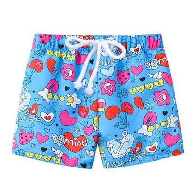 Blue love / 8 JOMAKE Kids Board Shorts  -  Cheap Surf Gear
