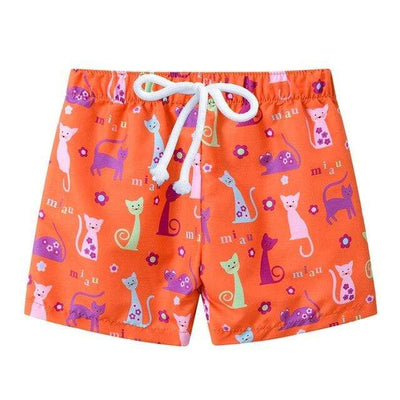 Orange cat / 4T JOMAKE Kids Board Shorts  -  Cheap Surf Gear