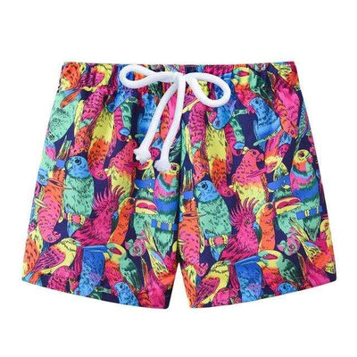 Parrot / 6 JOMAKE Kids Board Shorts  -  Cheap Surf Gear