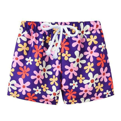 Purple flower / 4T JOMAKE Kids Board Shorts  -  Cheap Surf Gear